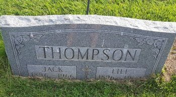 THOMPSON, JACK - Union County, Kentucky   JACK THOMPSON - Kentucky Gravestone Photos