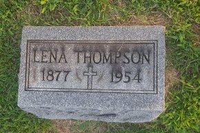 THOMPSON, LENA - Union County, Kentucky   LENA THOMPSON - Kentucky Gravestone Photos