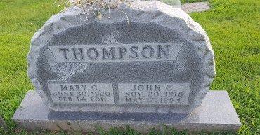 THOMPSON, MARY C - Union County, Kentucky   MARY C THOMPSON - Kentucky Gravestone Photos