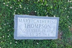 THOMPSON, MARY CATHERINE - Union County, Kentucky | MARY CATHERINE THOMPSON - Kentucky Gravestone Photos