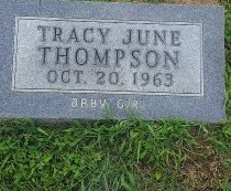 THOMPSON, TRACY JUNE - Union County, Kentucky | TRACY JUNE THOMPSON - Kentucky Gravestone Photos