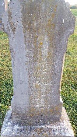THOMPSON, WALTER - Union County, Kentucky   WALTER THOMPSON - Kentucky Gravestone Photos