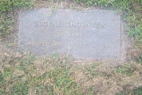 THORNTON (VETERAN), EUGENE - Union County, Kentucky | EUGENE THORNTON (VETERAN) - Kentucky Gravestone Photos