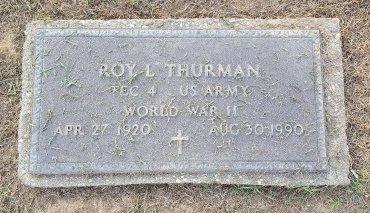 THURMAN (VETERAN WW2), ROY L - Union County, Kentucky | ROY L THURMAN (VETERAN WW2) - Kentucky Gravestone Photos