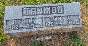 TRUMBO, B FRANK - Union County, Kentucky | B FRANK TRUMBO - Kentucky Gravestone Photos