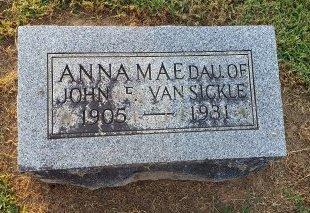VANSICKLE, ANNA MAE - Union County, Kentucky | ANNA MAE VANSICKLE - Kentucky Gravestone Photos