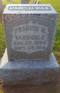 VANSICKLE, FRANCIS M - Union County, Kentucky | FRANCIS M VANSICKLE - Kentucky Gravestone Photos