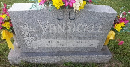 VANSICKLE, ELIZABETH - Union County, Kentucky | ELIZABETH VANSICKLE - Kentucky Gravestone Photos