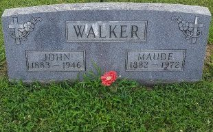 WALKER, MAUDE - Union County, Kentucky | MAUDE WALKER - Kentucky Gravestone Photos