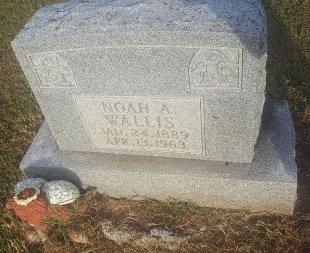 WALLIS, NOAH A - Union County, Kentucky | NOAH A WALLIS - Kentucky Gravestone Photos