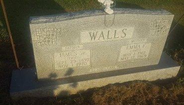 WALLS, EMMA F - Union County, Kentucky   EMMA F WALLS - Kentucky Gravestone Photos