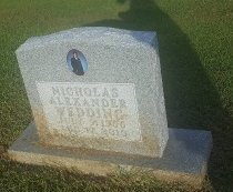 WEDDING, NICHOLAS ALEXADER - Union County, Kentucky | NICHOLAS ALEXADER WEDDING - Kentucky Gravestone Photos