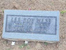 WEST, LEE ROY - Union County, Kentucky | LEE ROY WEST - Kentucky Gravestone Photos