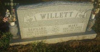 WILLETT, BERNARD - Union County, Kentucky | BERNARD WILLETT - Kentucky Gravestone Photos
