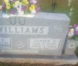 WILLIAMS, JANICE C - Union County, Kentucky | JANICE C WILLIAMS - Kentucky Gravestone Photos