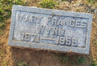 WYNN, MARY FRANCES - Union County, Kentucky | MARY FRANCES WYNN - Kentucky Gravestone Photos