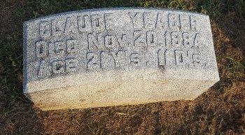 YEAGER, CLAUDE - Union County, Kentucky | CLAUDE YEAGER - Kentucky Gravestone Photos