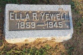 YEWELL, ELLA  - Union County, Kentucky | ELLA  YEWELL - Kentucky Gravestone Photos