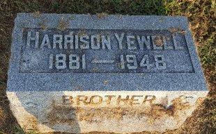 YEWELL, HARRISON - Union County, Kentucky | HARRISON YEWELL - Kentucky Gravestone Photos