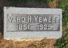 YEWELL, VARD H - Union County, Kentucky   VARD H YEWELL - Kentucky Gravestone Photos
