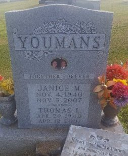 YOUMANS, JANICE - Union County, Kentucky | JANICE YOUMANS - Kentucky Gravestone Photos