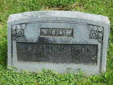 BECK, JOSEPHINE - Warren County, Kentucky | JOSEPHINE BECK - Kentucky Gravestone Photos