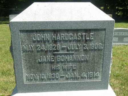 BOHANNON HARDCASTLE, JANE - Warren County, Kentucky | JANE BOHANNON HARDCASTLE - Kentucky Gravestone Photos