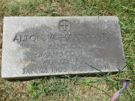 HARDCASTLE (VETERAN WWII), ALTON W. - Warren County, Kentucky | ALTON W. HARDCASTLE (VETERAN WWII) - Kentucky Gravestone Photos