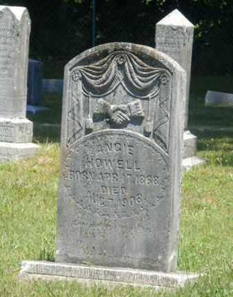 HOWELL, ANGIE - Warren County, Kentucky | ANGIE HOWELL - Kentucky Gravestone Photos