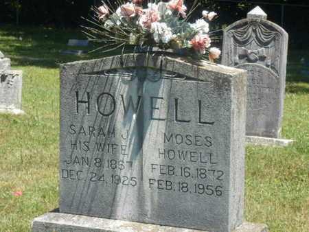 HOWELL, MOSES - Warren County, Kentucky | MOSES HOWELL - Kentucky Gravestone Photos