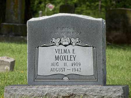 MOXLEY, VELMA E. - Warren County, Kentucky | VELMA E. MOXLEY - Kentucky Gravestone Photos