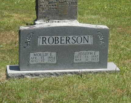 ROBERSON, MOLLIE E. - Warren County, Kentucky | MOLLIE E. ROBERSON - Kentucky Gravestone Photos