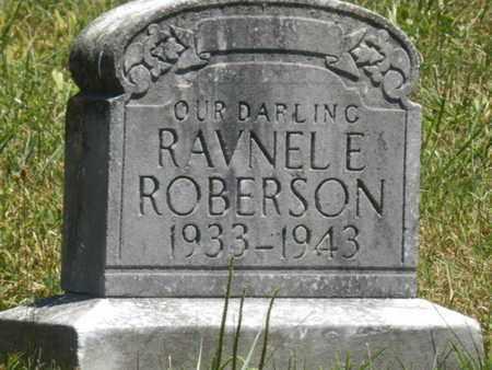 ROBERSON, RAVNEL E. - Warren County, Kentucky | RAVNEL E. ROBERSON - Kentucky Gravestone Photos