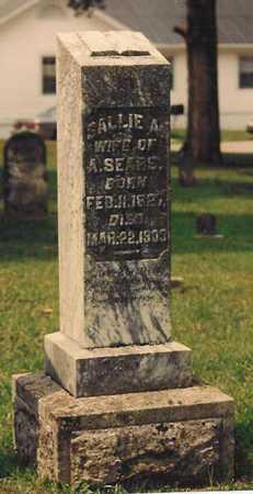 "HERNDON SEARS, SARAH ANN ""SALLIE"" - Warren County, Kentucky | SARAH ANN ""SALLIE"" HERNDON SEARS - Kentucky Gravestone Photos"