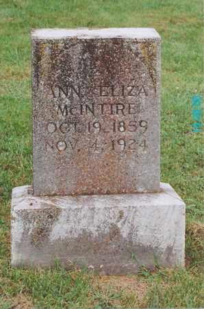MCINTIRE, ANN ELIZABETH - Washington County, Kentucky | ANN ELIZABETH MCINTIRE - Kentucky Gravestone Photos