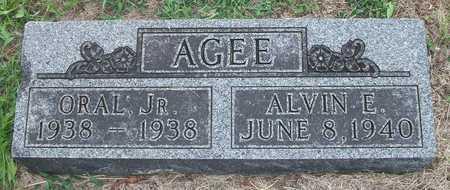 AGEE JR, ORAL CLAY - Wayne County, Kentucky | ORAL CLAY AGEE JR - Kentucky Gravestone Photos