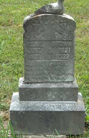 BROWN, ROXIE - Wayne County, Kentucky | ROXIE BROWN - Kentucky Gravestone Photos