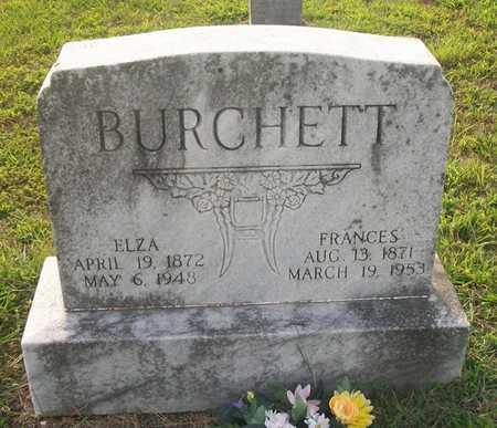 BURCHETT, FRANCES - Wayne County, Kentucky | FRANCES BURCHETT - Kentucky Gravestone Photos