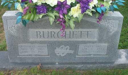 BURCHETT, GRANVILLE HARM - Wayne County, Kentucky | GRANVILLE HARM BURCHETT - Kentucky Gravestone Photos