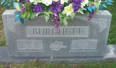 BURCHETT, POLLY ANN - Wayne County, Kentucky | POLLY ANN BURCHETT - Kentucky Gravestone Photos