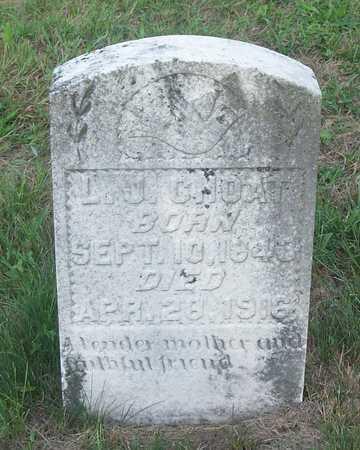 MASON CHOAT, LOUISA JANE - Wayne County, Kentucky | LOUISA JANE MASON CHOAT - Kentucky Gravestone Photos
