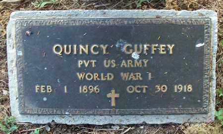 GUFFEY (VETERAN WWI, QUINCY - Wayne County, Kentucky | QUINCY GUFFEY (VETERAN WWI - Kentucky Gravestone Photos