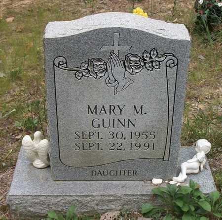 GUINN, MARY M - Wayne County, Kentucky | MARY M GUINN - Kentucky Gravestone Photos