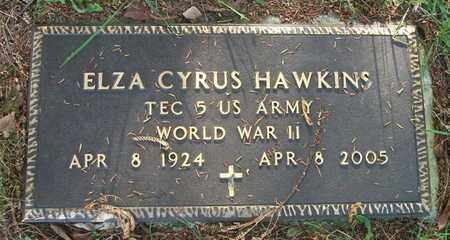 HAWKINS (VETERAN WWII), ELZA CYRUS - Wayne County, Kentucky | ELZA CYRUS HAWKINS (VETERAN WWII) - Kentucky Gravestone Photos