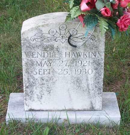 HAWKINS, WENDLE - Wayne County, Kentucky | WENDLE HAWKINS - Kentucky Gravestone Photos