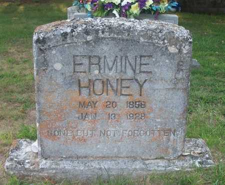 HONEY, ERMINE - Wayne County, Kentucky | ERMINE HONEY - Kentucky Gravestone Photos