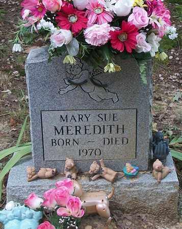 MEREDITH, MARY SUE - Wayne County, Kentucky | MARY SUE MEREDITH - Kentucky Gravestone Photos
