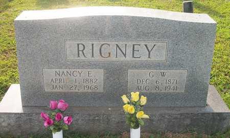 RIGNEY, NANCY E - Wayne County, Kentucky   NANCY E RIGNEY - Kentucky Gravestone Photos