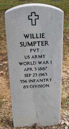 SUMPTER (VERERAN WWI), WILLIE - Wayne County, Kentucky | WILLIE SUMPTER (VERERAN WWI) - Kentucky Gravestone Photos