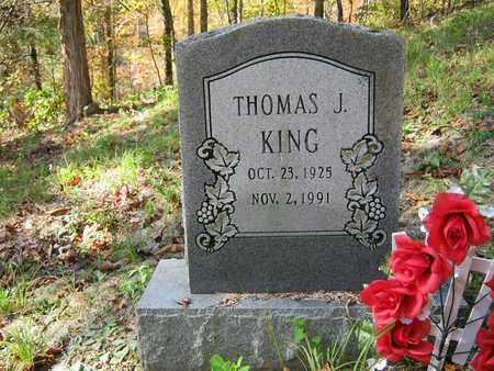 KING, THOMAS J - Wolfe County, Kentucky   THOMAS J KING - Kentucky Gravestone Photos
